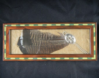 Turkey Feather Southwest Art Home Decor Native American Art