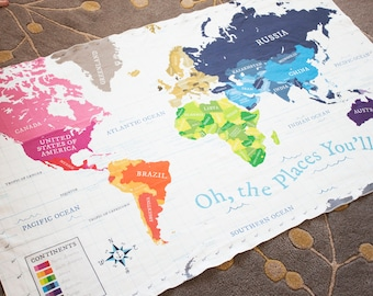World map blanket etsy world map blanket swaddle blanket map blanket baby blanket toddler blanket gumiabroncs Image collections
