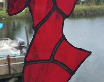 """Go Red for Women"""" Sun Catcher"""