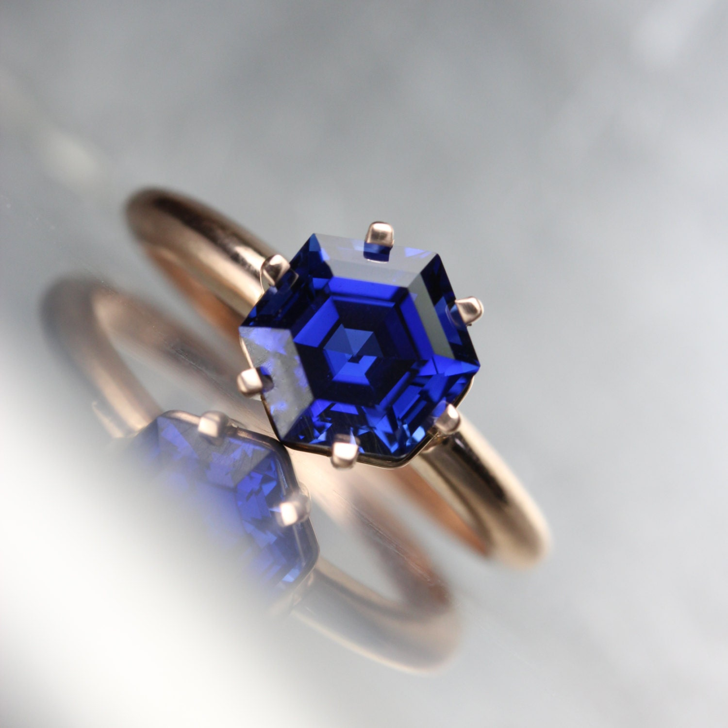 rings star mens diamond plated com blue yellow simulated saffire or sapphire silver ring sterling amazon gold dp