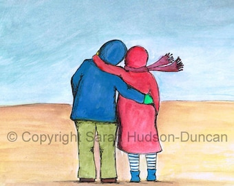 Its Ok Love - Beautiful, Thoughtful Art Print full of Love, Life and Hope.