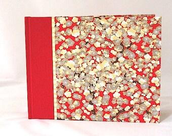 Photo Album Red Cherry Blossom - Wedding Album, Scrapbook