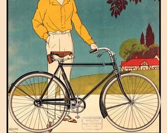 La Bicyclette Ravat Bicycle Poster (#1320) 6 sizes