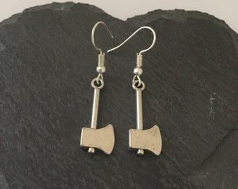 Halloween axe earrings / gothic jewellery  / Halloween earrings / Halloween jewellery / Halloween gift