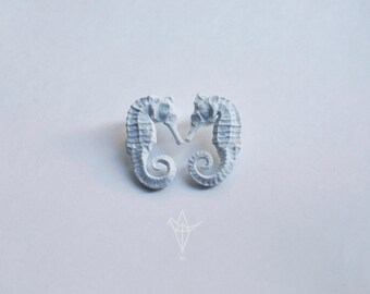Earrings with sea Horse.