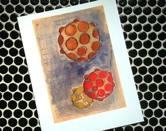 Globes  - Fine Art Giclee Print