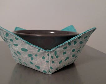 Bowl Holder - Blue/Green Pebble