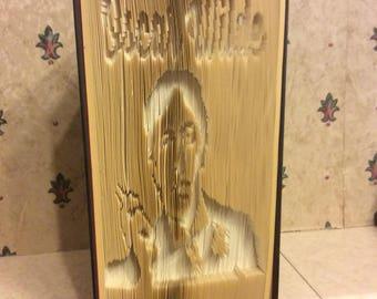 Oscar Wilde book fold