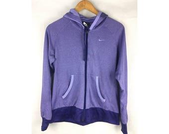 NIKE DRI-FIT Sweater Hoodies Extra Large Size Full Zipper Sportwear