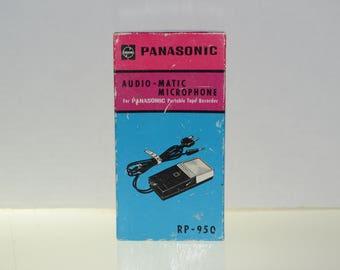 New Panasonic Audio-Matic Microphone RP-950 - Made In Japan