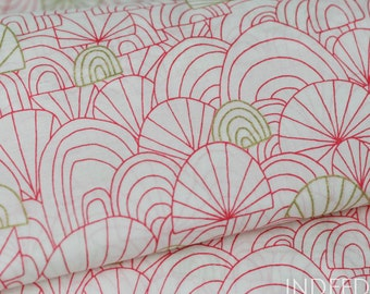 50% Off //ORGANIC  VOILE- Spree, Revelry Collection, Cloud 9 Fabrics, Organic Cotton Voile Fabric, By the Half-Yard