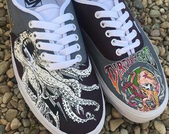 Custom painted Dirty Heads Vans