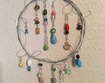 Small beaded wind chime