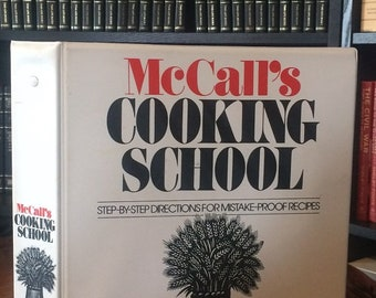 McCall's Cooking School (Binder Only) (1983)