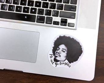 Andre 3000 Oukast Vinyl Laptop Sticker | Phone Decal