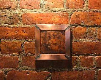 Copper wall hanger