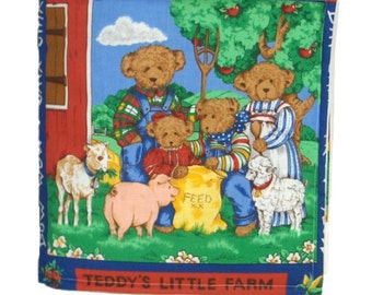 CLOTH / SOFT BOOK - Teddy's Little Farm