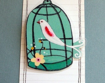 Imaginary Stories (The Lonely Aviary Pin)