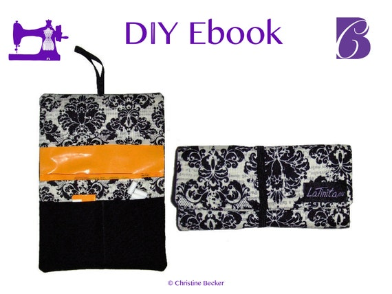 DIY Ebook PDF Tutorial and Pattern Tobacco Pouch