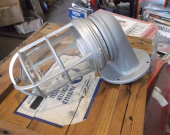 One Explosion Proof Industrial Lighting Fixture by Appleton - Vintage Sconce