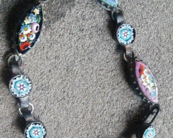 Antique Micro Mosaic Bracelet