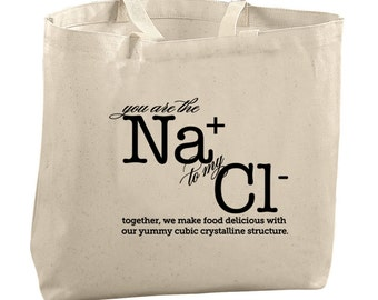 Funny Christmas Gifts for Her Chemistry Tote Bags Science Tote Bags for Teachers Science Teacher Valentines Day Gifts Nerdy Gifts Valentines