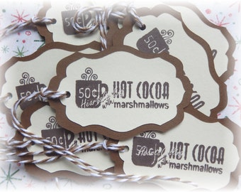 Hot Cocoa Tags (8)
