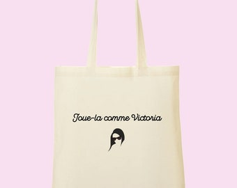 Tote bag acts as Victoria