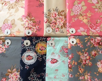 Floral Fabrics -- NOT FOR PURCHASE ~~ For Custom Passport Holders or other items in my shop ~~ please Convo me with Questions