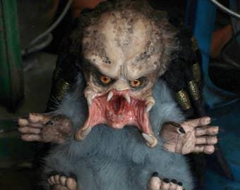 Little Predator, OOAK art doll, will make to order