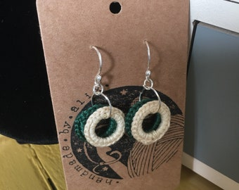 Crochet Rings Earrings