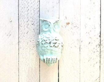 Owl Door Knocker, Iron Decor, Home Decor, Front Door Decor,