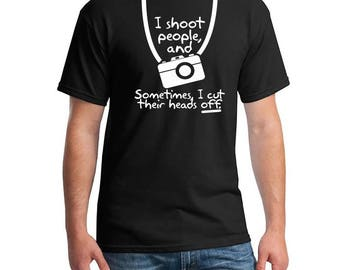 Photographer Shirt, Photography Shirt, I Shoot People, Photographer Gift, Photographer T-shirts, Funny Photographer Shirt