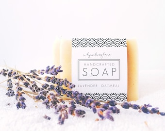 Lavender Soap, Homemade Soap, Vegan Soap, Small Gift Women, Spa Gifts for Women, Lavender Gift Ideas, Dry Skin Soap, Under 15 Gift Women