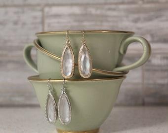 Designer Inspired, Drop Earrings, Druzy Earrings, inspired, druzy, LARGE, inspired, Stone Earrings, Earrings, drusy, druzy