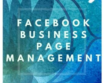 Facebook Management - Social Media Manager - Facebook Business