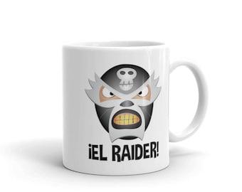 El Raider Lucha Libre Mexican Wrestler Mug