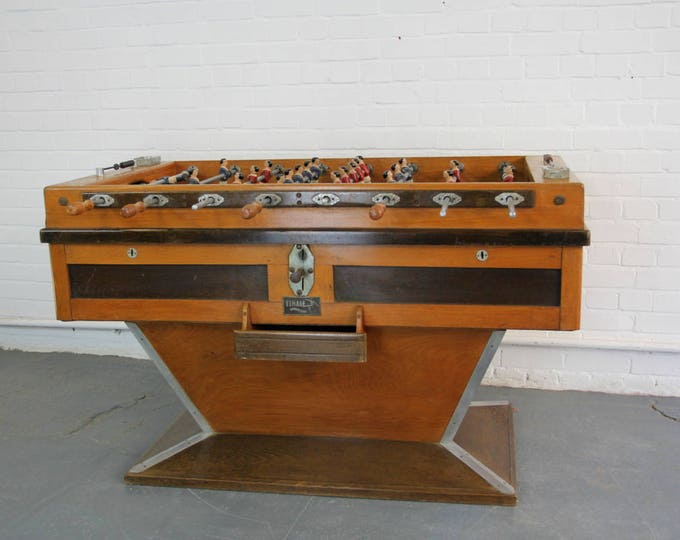 Art Deco French Football Table By Finale Circa 1930s