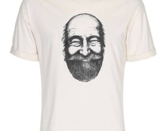 Regular Length - Finn Tee - Organic T-shirt for Men with Print