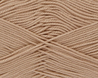 King Cole Giza Mercerised Cotton Double knitting: Pebble