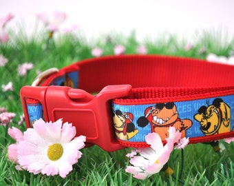 Dog Collar -Muttley - 50% Profits to Dog Rescue