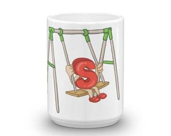 Swinger Mug BDSM Mug Novelty gift Gag gift (Mug)
