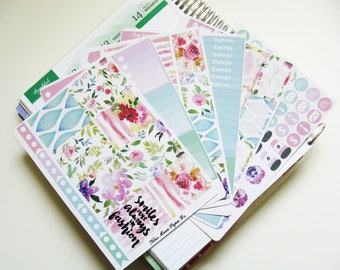 Planner Stickers - Watercolour Floral