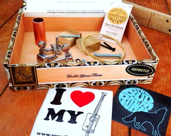 Cigar Box Guitar KIT finish it yourself