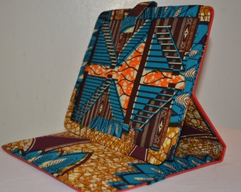 "African Print & Leather Tablet/ iPad cases - ""Ibrahim"" Collection"