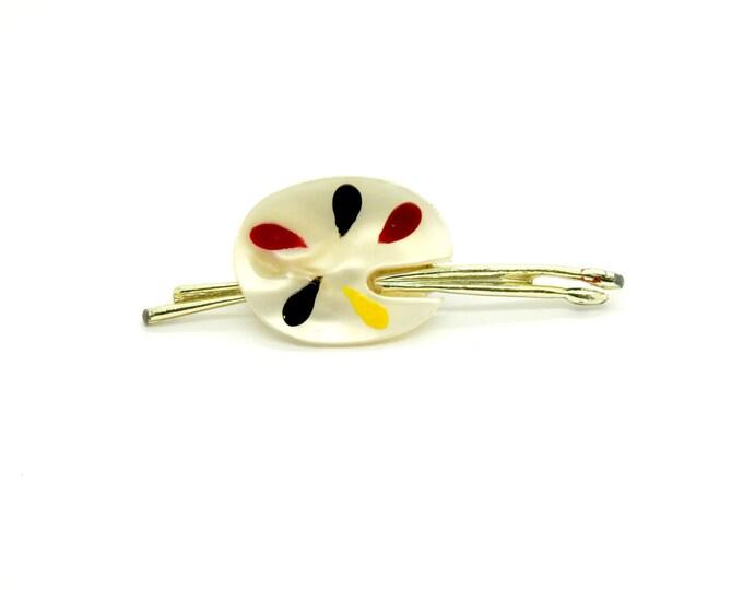 Cute white brooch for women