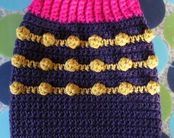 Size S - Dog Sweater Vest - Jelly Donut - Ready to Ship Today