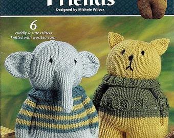 Knit Animal Friends - Annie's Attic 872695