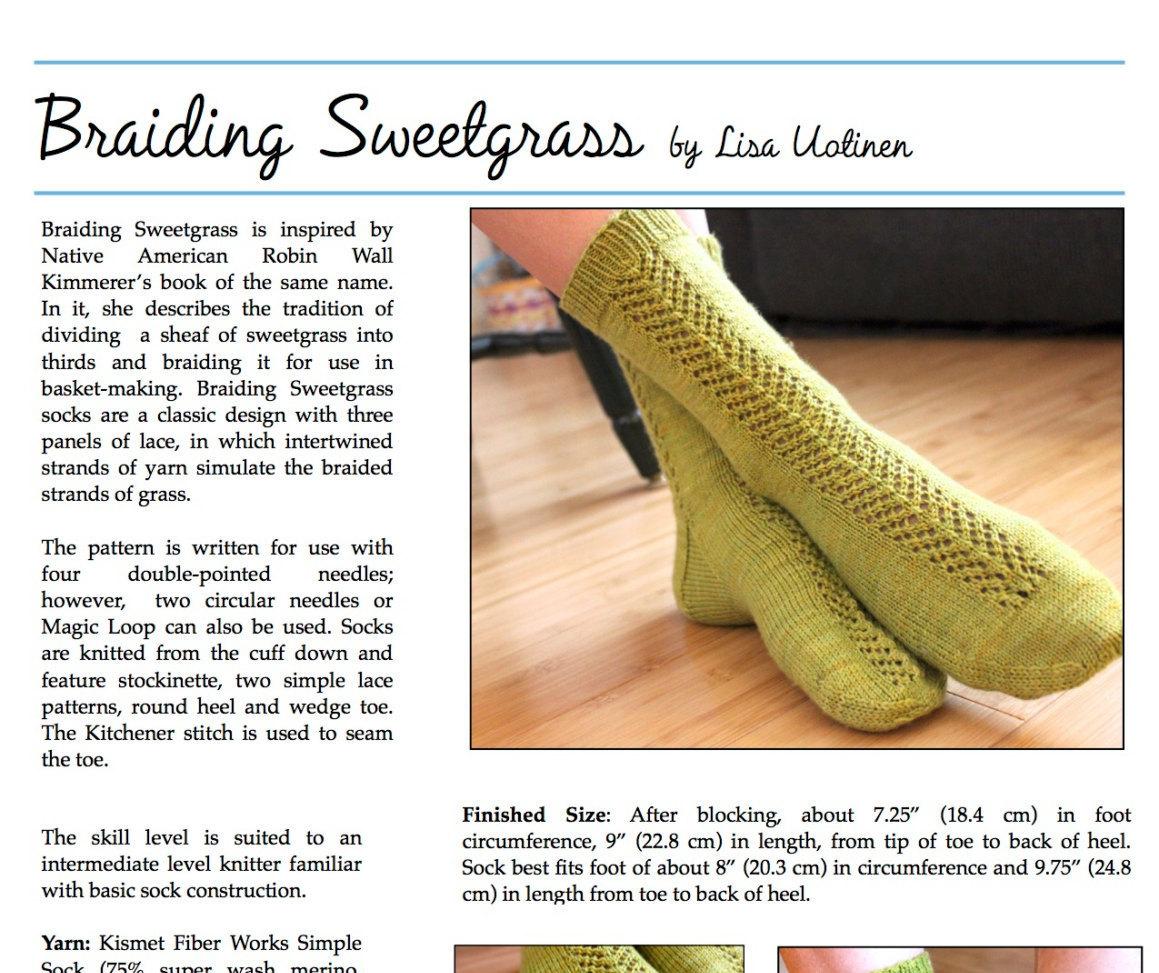 Knitting Pattern for Socks, Knit Socks Pattern, PDF Knitting Pattern ...