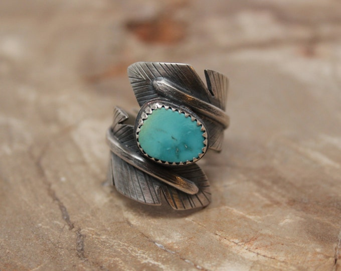 The Feather Wrap Ring